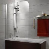 Шторка на ванну Radaway Torrenta PND 121 L прозрачное стекло 201203-101NL