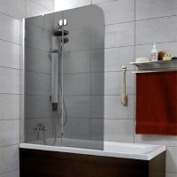 Шторка на ванну Radaway Torrenta PND 121 L стекло графит 201203-105NL