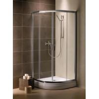 Душевой уголок Radaway Premium Plus A 90x190 стекло графит 30403-01-05N тонированное