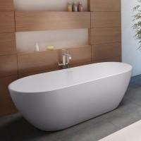 Ванна из литого мрамора Riho Bilbao BS10005 170x80 см