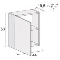Шкафчик для панели под ванну Riho GIRASOLE 180х100 с распашной левой дверью с одной полкой F1GI00440611*FIN*FIN