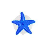 Вакуумная присоска с декоративным элементом морская звезда, цвет синий Sorcosa Deco GHI 410