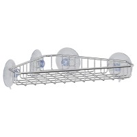 Полочка-решетка угловая на вакуумных присосках 24,5 см Sorcosa Plain GHI 206