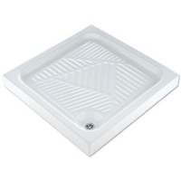 Поддон для душа керамический 80х80см Disegno Ceramica Como 104
