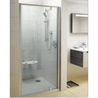 Душевая дверь в нишу 90см Ravak Pivot 90см PDOP1-90, белый/прозрачное стекло