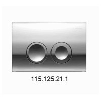 Смывная клавиша Geberit Delta21 115.125.21.1