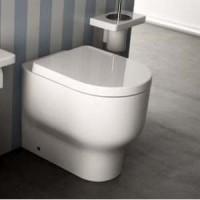 Унитаз напольный с сиденьем микролифт Hidra Ceramica GIO G10PWC+P33+GZ