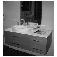 Комплект мебели 113см Il Bagno Alessi Inda