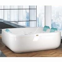 Гидромассажная ванна 190x150см Jacuzzi Gamma Aquasoul Extra Top 9443-588A