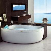Гидромассажная ванна 150x100см Jacuzzi Aquasoul Offset Top 9443-192A + 9F23-5024