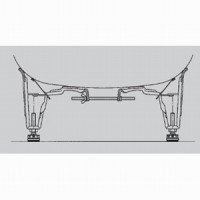 Универсальные монтажные ножки Kaldewei Pedestal Mod 5030