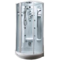 Душевая кабина Teuco L05JS2-C+CG + R172 (хром)+Clean Glass