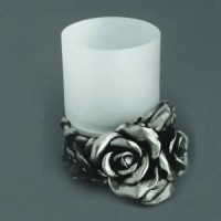 Стакан Art & Max Rose AM-0091D T(серебро)