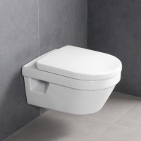 Унитаз подвесной Villeroy & Boch Architectura Direct Flush 5684 HRR1 5684HRR1 CeramicPlus